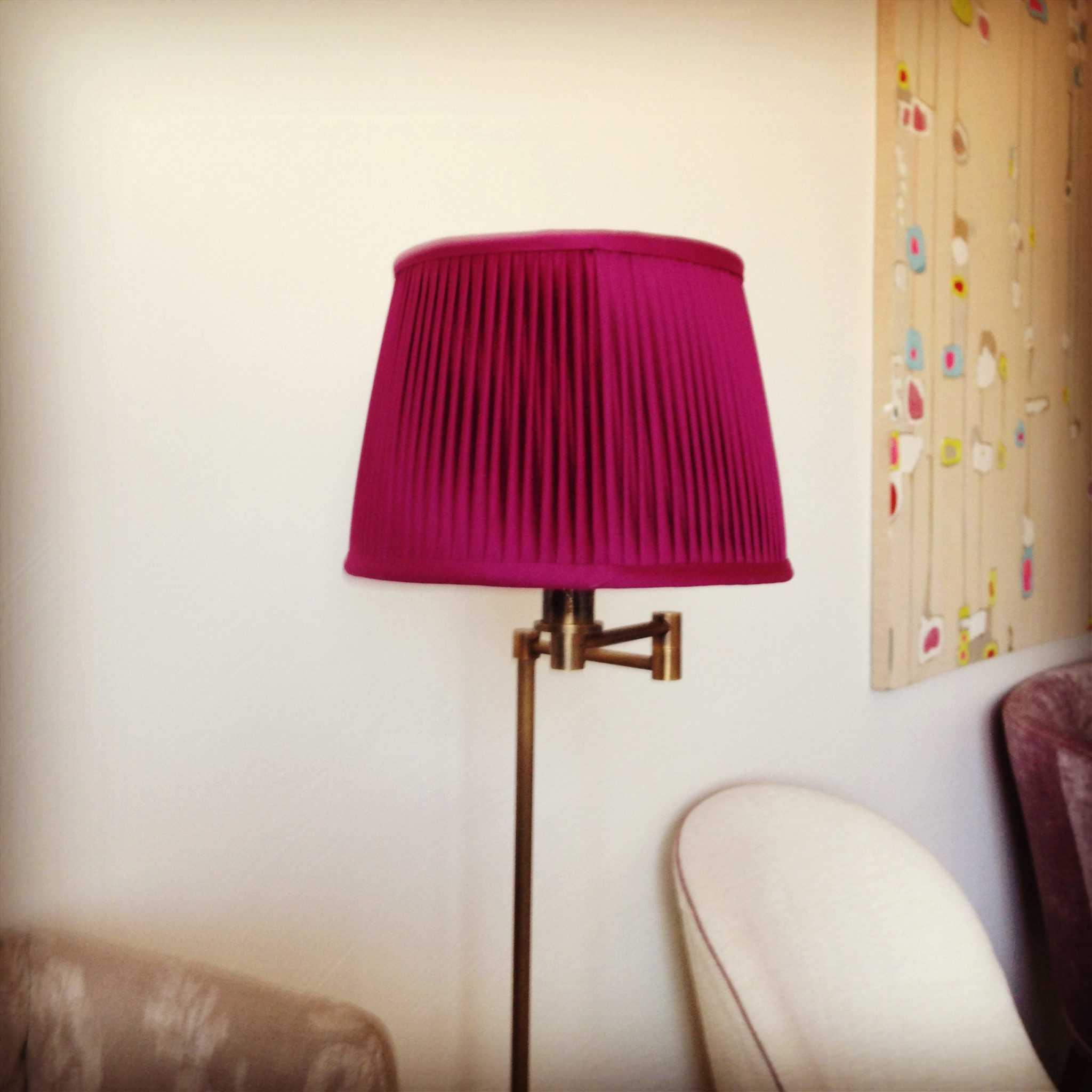 custom-red-lampshade