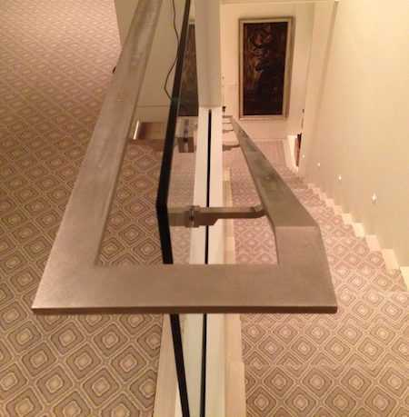 Wrapping Handrail with Fabric