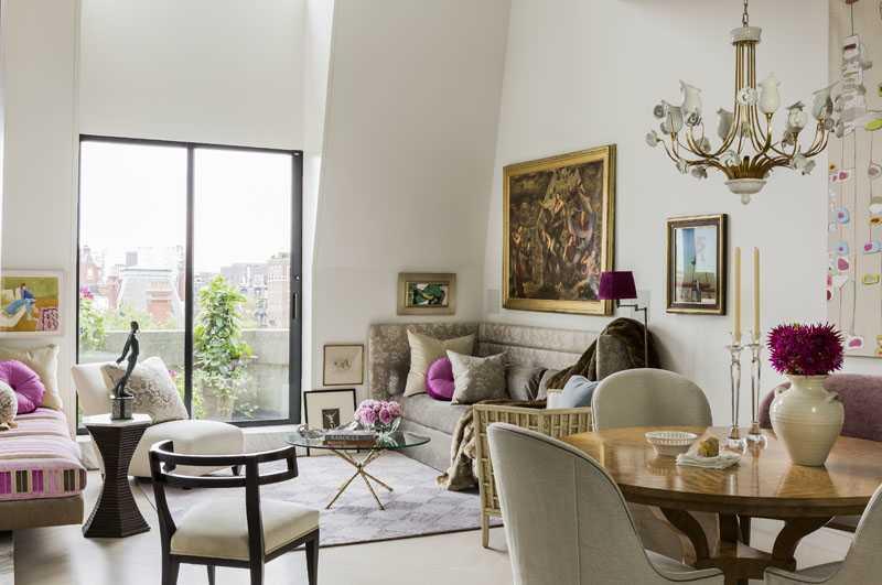 Platemark Interior Design Commonwealth Avenue Living Room
