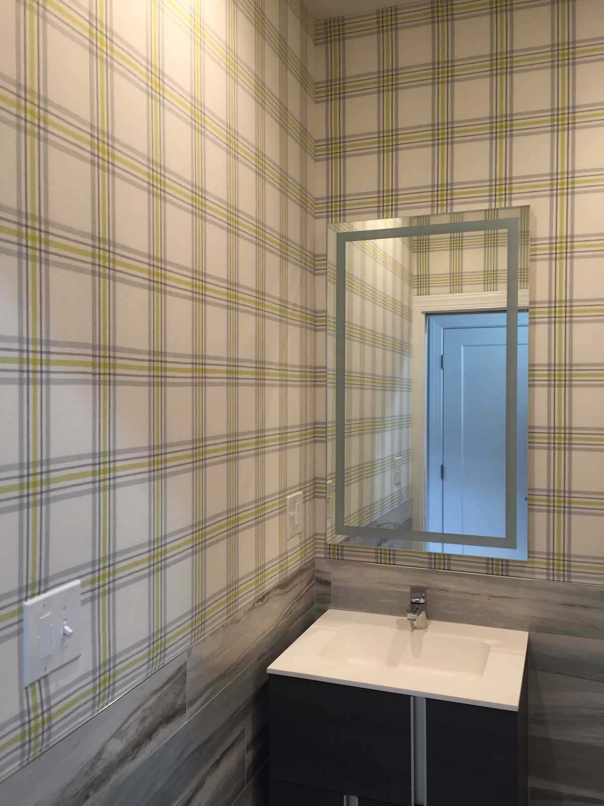 wall-upholstery-in-powder-room