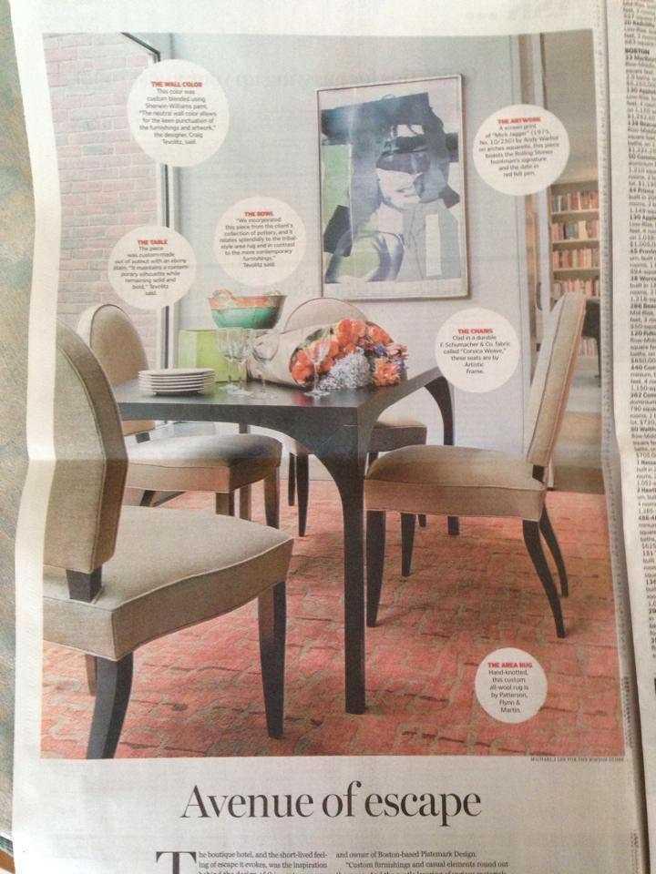 Boston Globe Room To Love