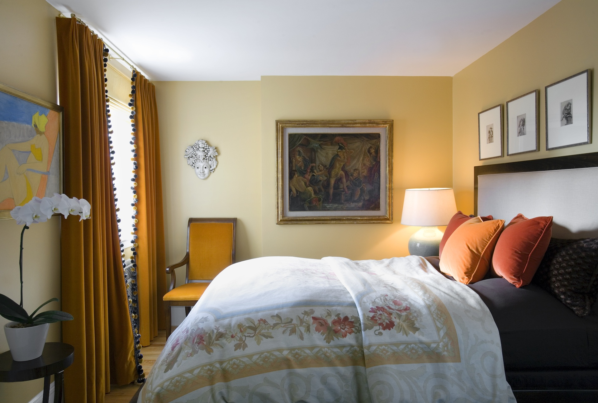 Platemark Interior Design South End Tremont Street Bedroom