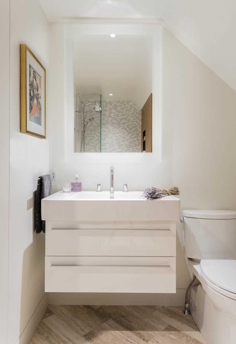 Platemark Interior Design Wellesley Bathroom Vanity