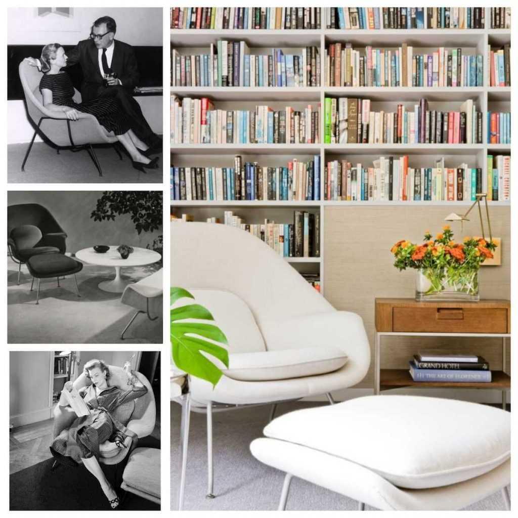 The Saarinen Womb Chair is still timeless